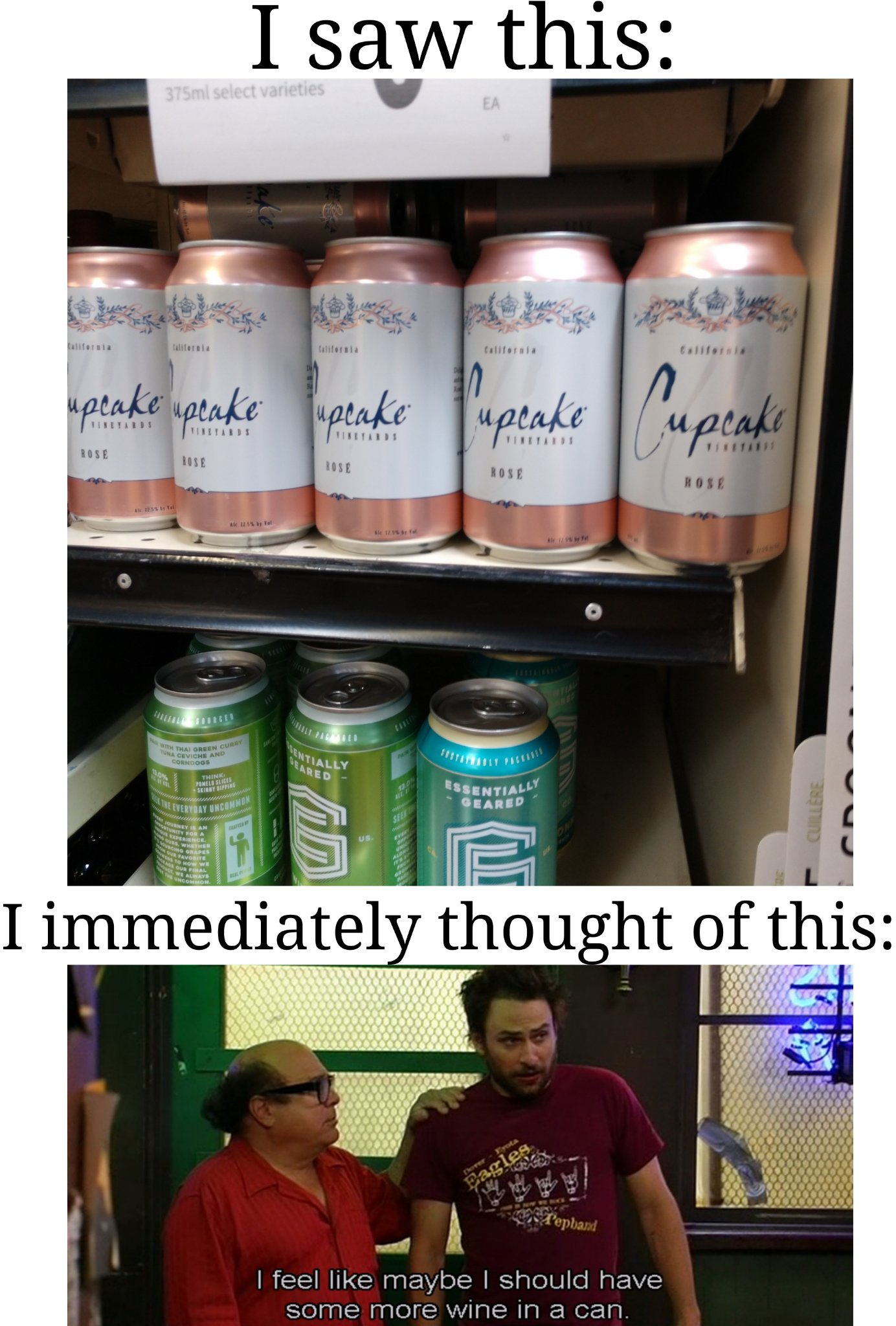 For the drunk on the go - meme