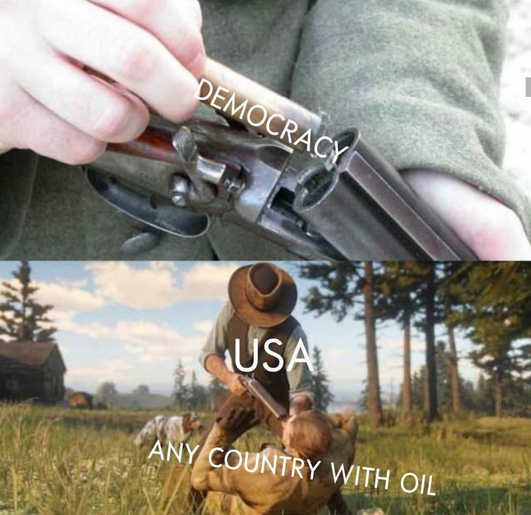 Oil needs - meme