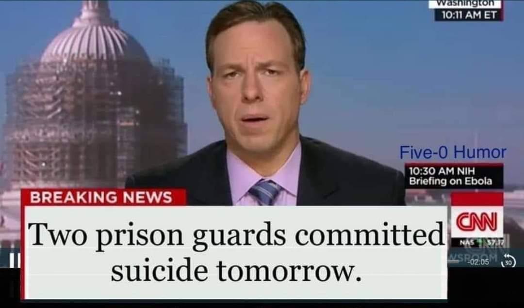 Epstein's guards just got arrested - meme