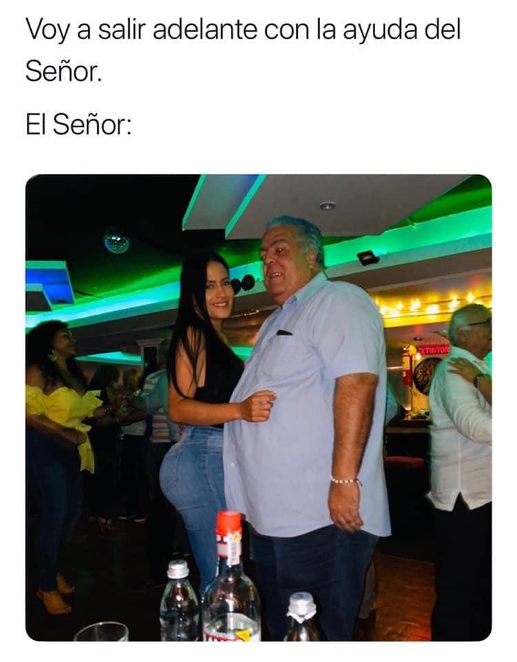el Señor - meme
