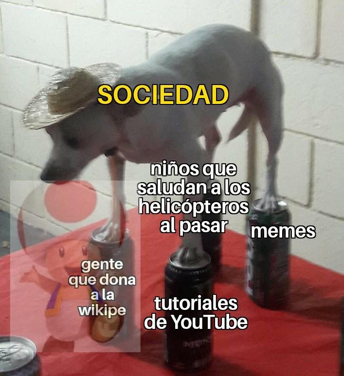 No es original pero tampoco repost - meme