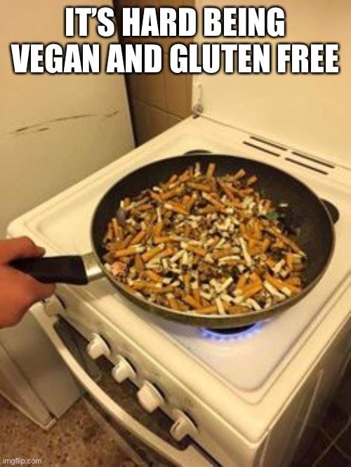The secret ingredient is cancer - meme