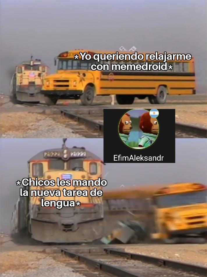 La tarea - meme