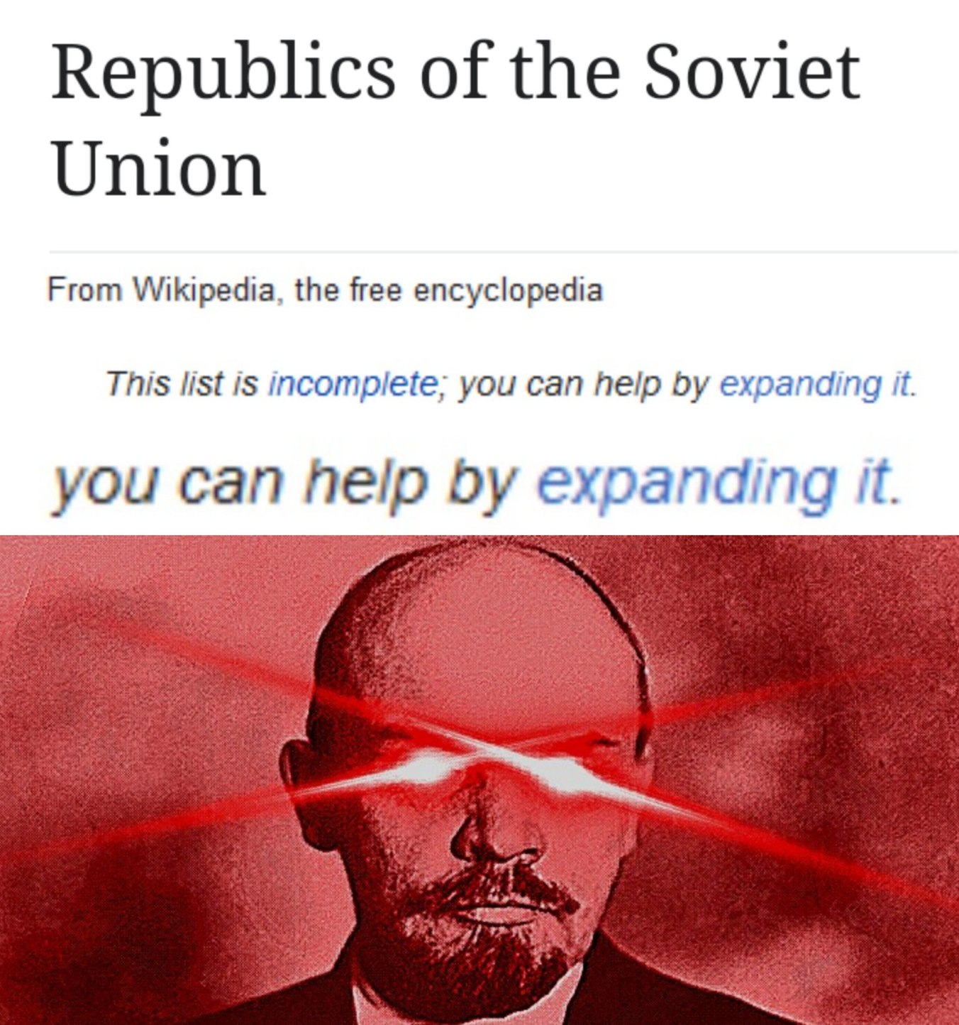 *revolution intensifies* - meme