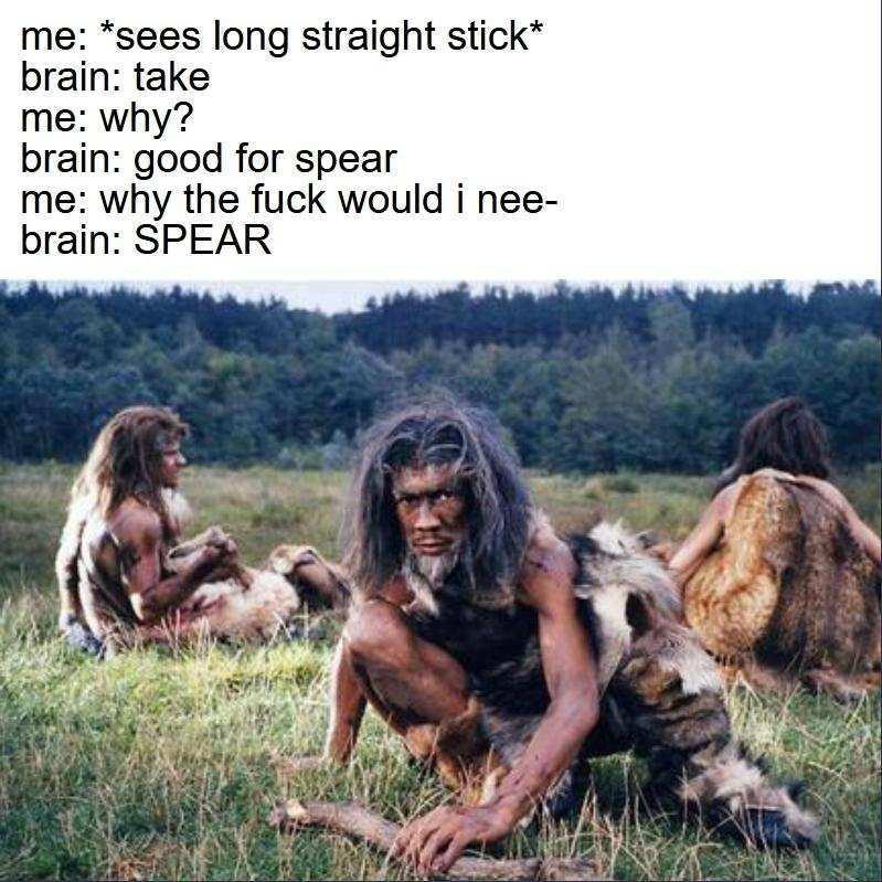 Spear - meme