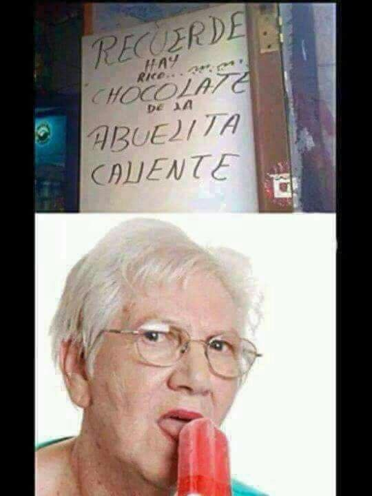 abuelita - meme