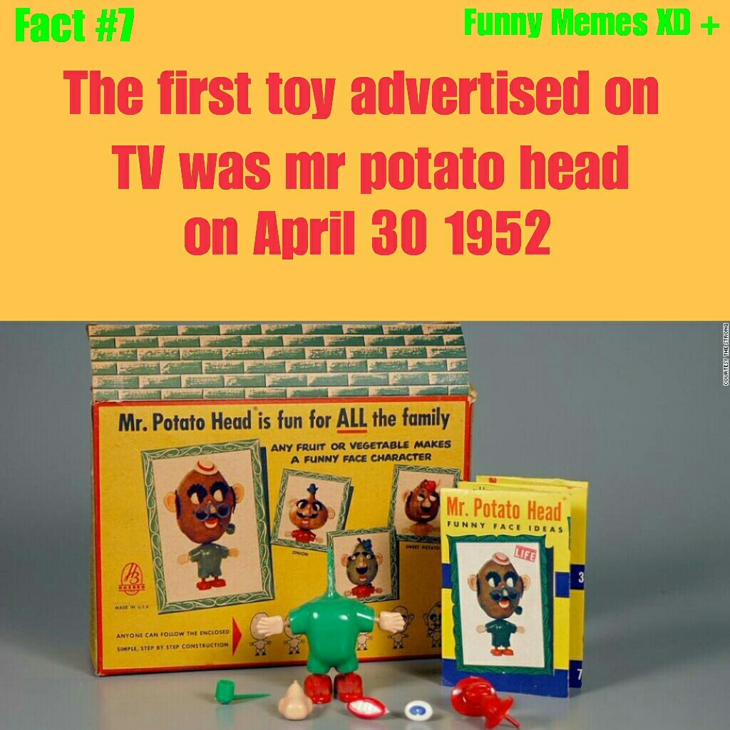 First toy advertised on TV - meme