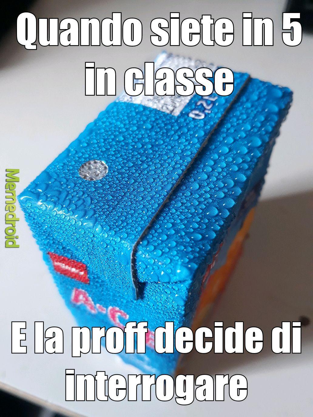 *Sweats in Italian* - meme