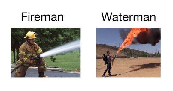 thanks watermen - meme