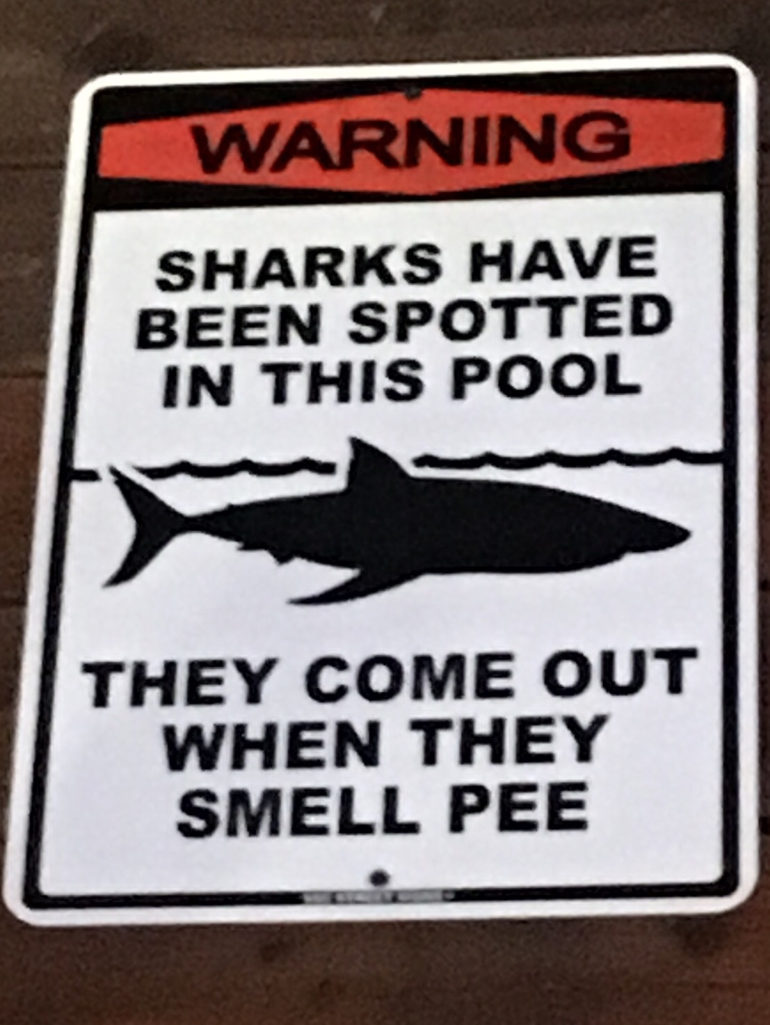 don't pee in this pool! lol - meme