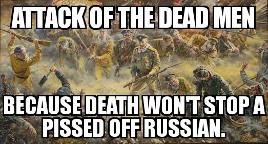 Attack of the dead men - meme