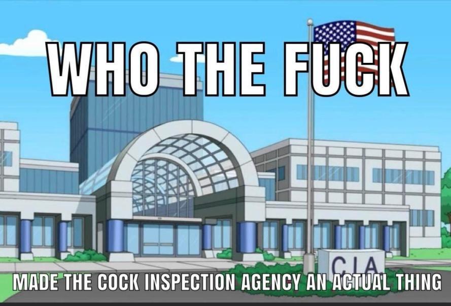 Chicken Inspection agency - meme