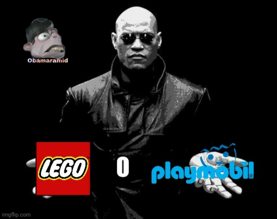 Lego o playmobil - meme