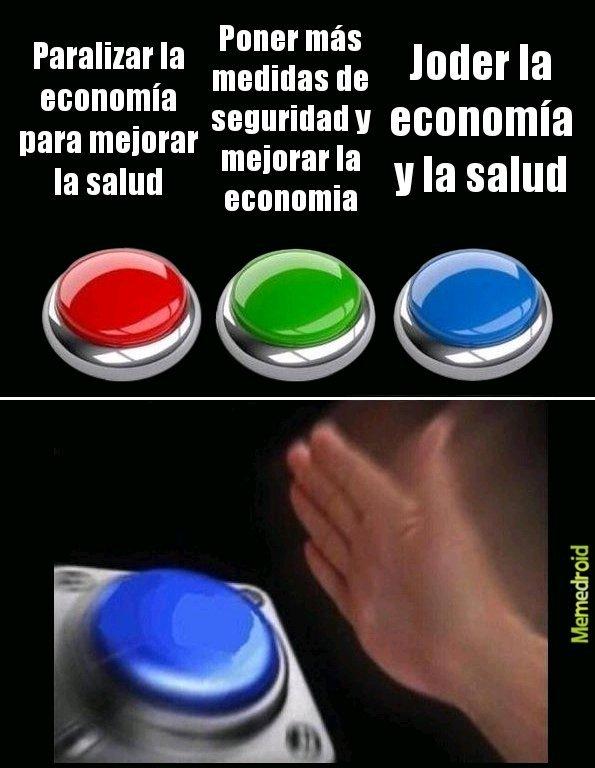 Gobierno de España be like - meme