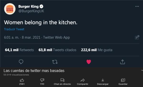 Burger King basado - meme
