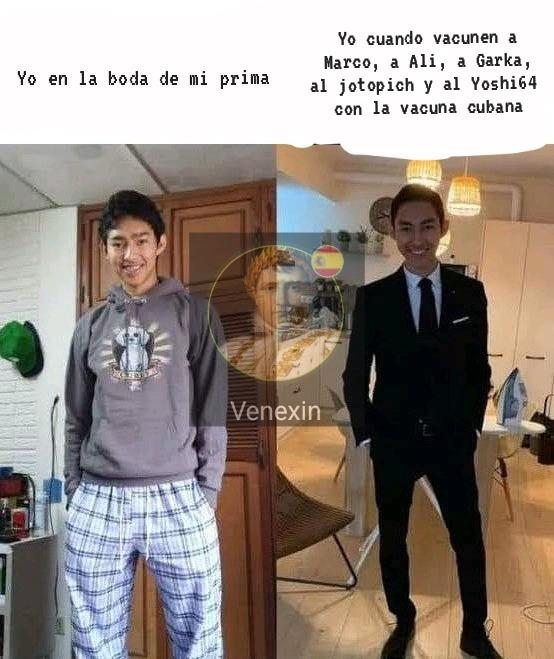 Vacuna Cubana = Orina con Lejía - meme