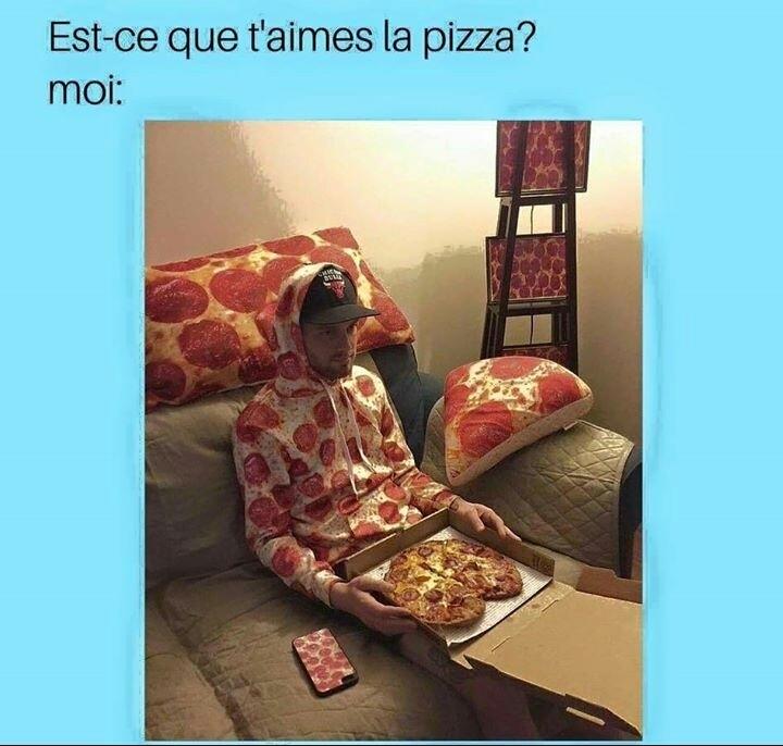 Vive la pizza avec de l'ananas dessus ! - meme