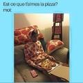 Vive la pizza avec de l'ananas dessus !