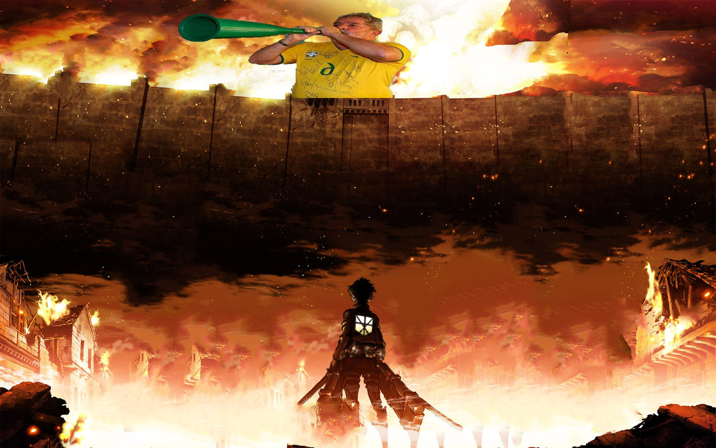 Attack on Lula - meme