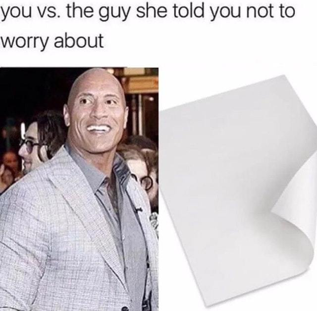 Rock vs Paper - meme