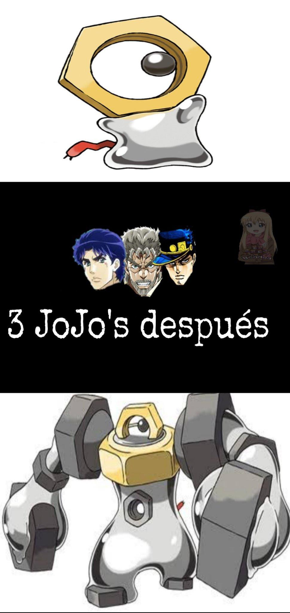 4 memes seguidos de Pokémon y 2 seguidos con Meltan