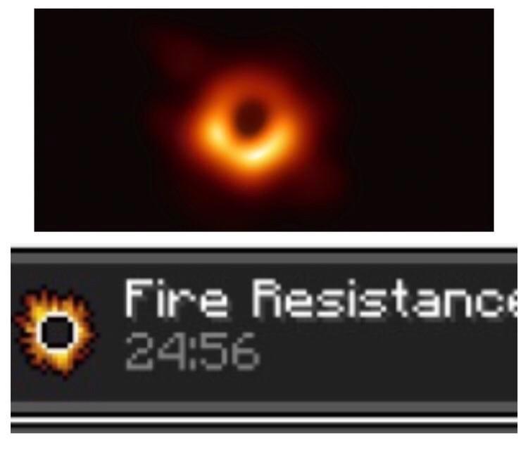 por isso o buraco negro suga a luz - meme