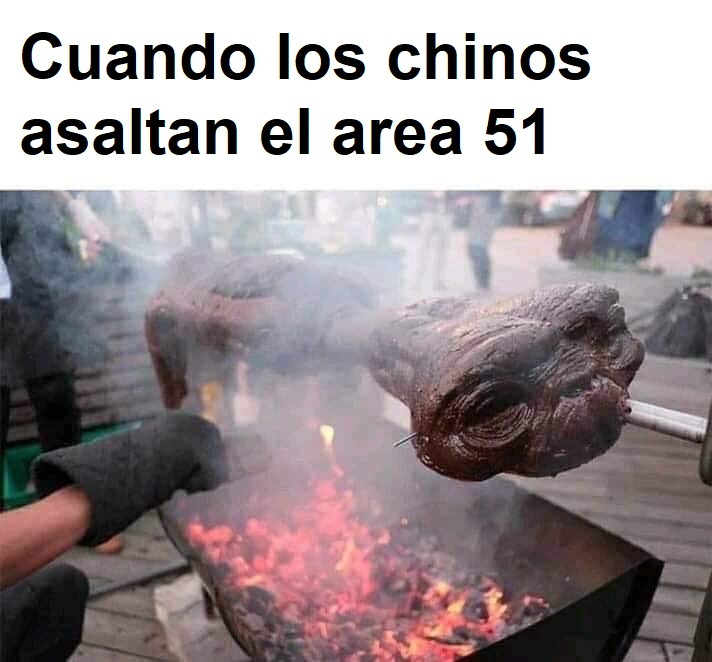 sopa do alien, uma delicia - meme