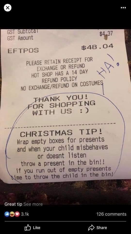 Christmas Tip! - meme