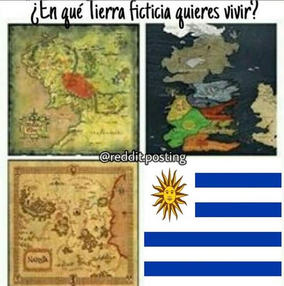 Uruguay - meme