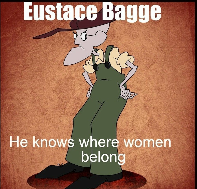 Eustace bagge 2020 - meme