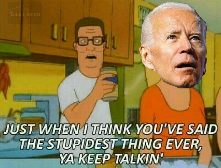 Biden has dimensia - meme