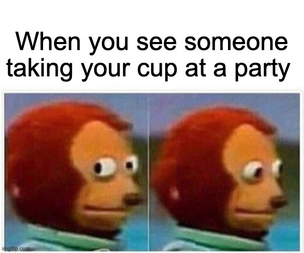 Who else misses parties? - meme