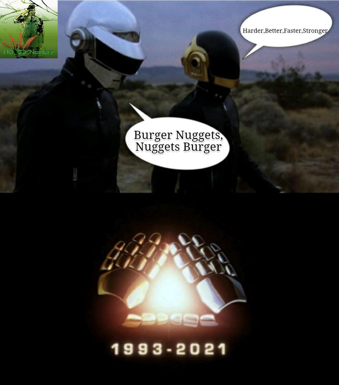 Memes de Daft Punk. Cómo dijo la azuka nazi: posiblemente malardo.