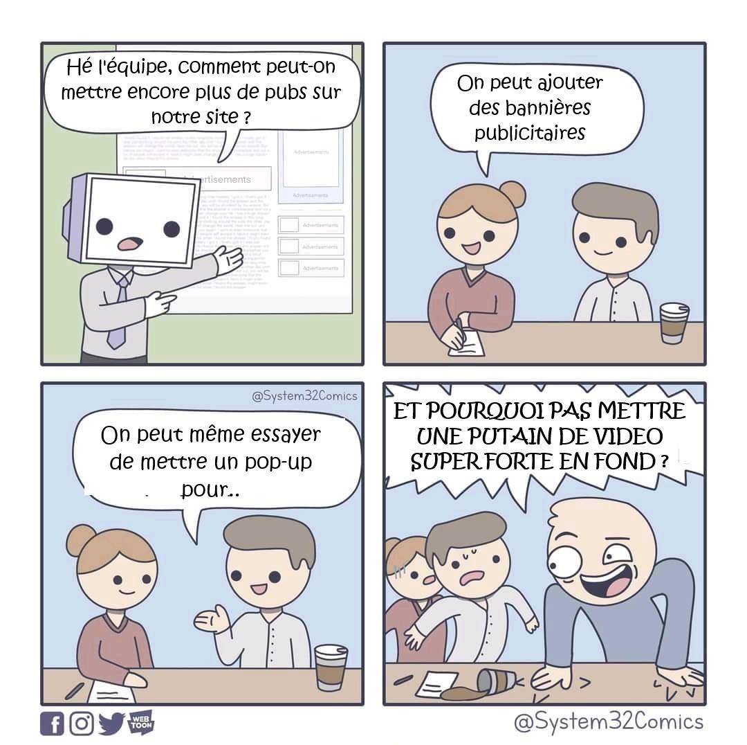 Crédits : System32Comics (trad by me) - meme
