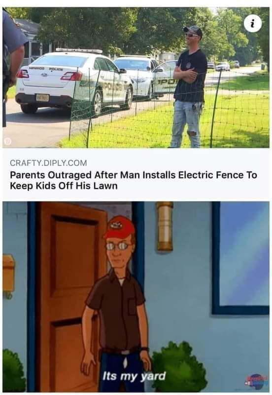 My property, my rules - meme