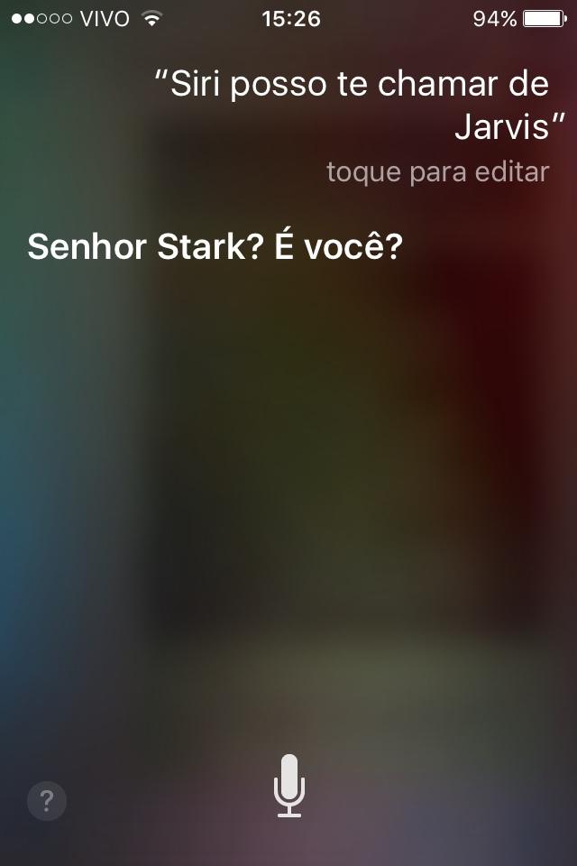 Siri ta voando - meme