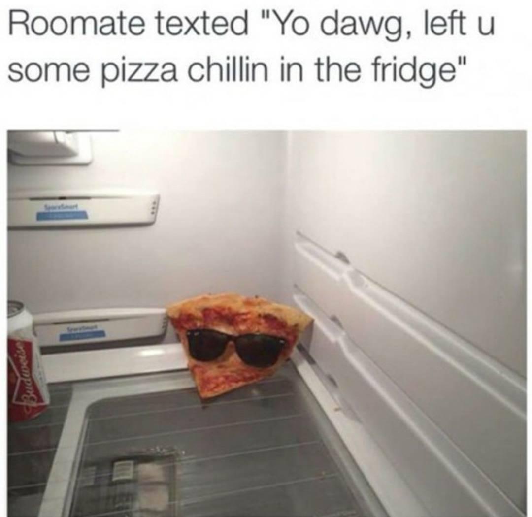 It was literally Chillin' - meme