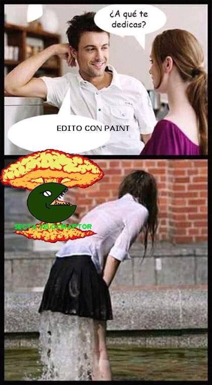 el paint es para prros >:v - meme
