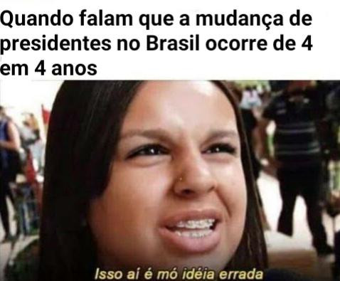Brasil, mostra a tua cara, eu quero ver quem paga pra a gente ficar assim - meme