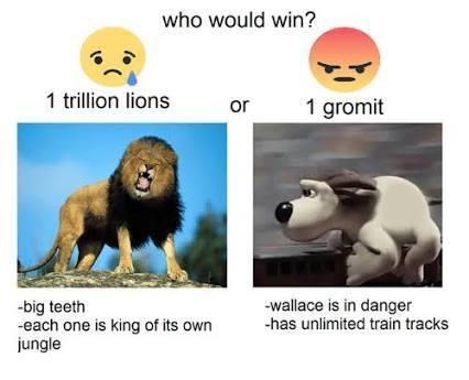 GROMIT ATTAC - meme