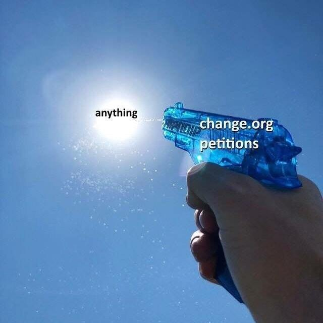 Change.org - meme