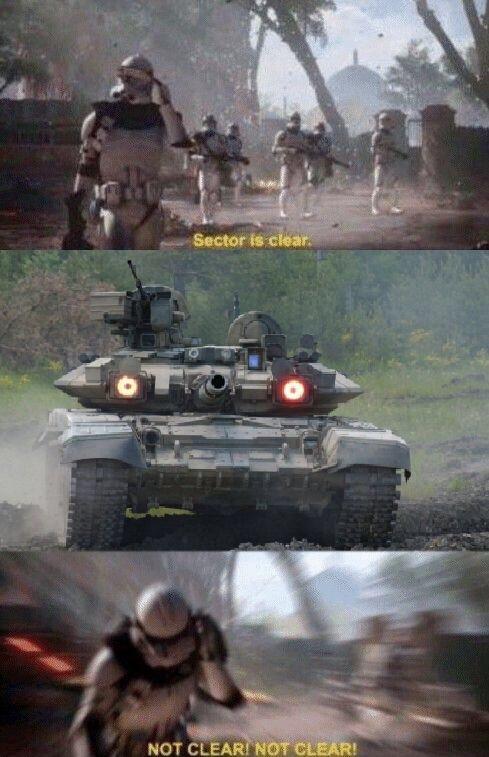 T 90 incomming - meme