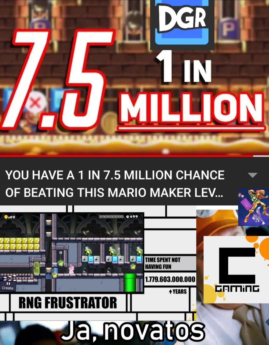 El Fan de Mario que no entiende el meme tiene altas probabilidades de NO entender Inglés.