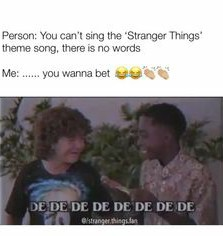 To all the people who say you can't sing the theme song! - meme