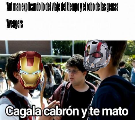 Vuelven los memes de avengers