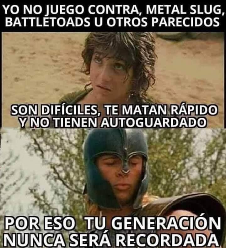 Generaciones brgs no. 2 - meme
