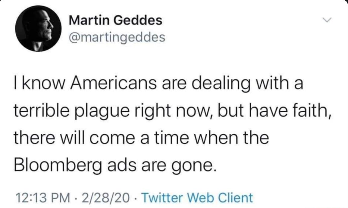 Bloomberg bad - meme