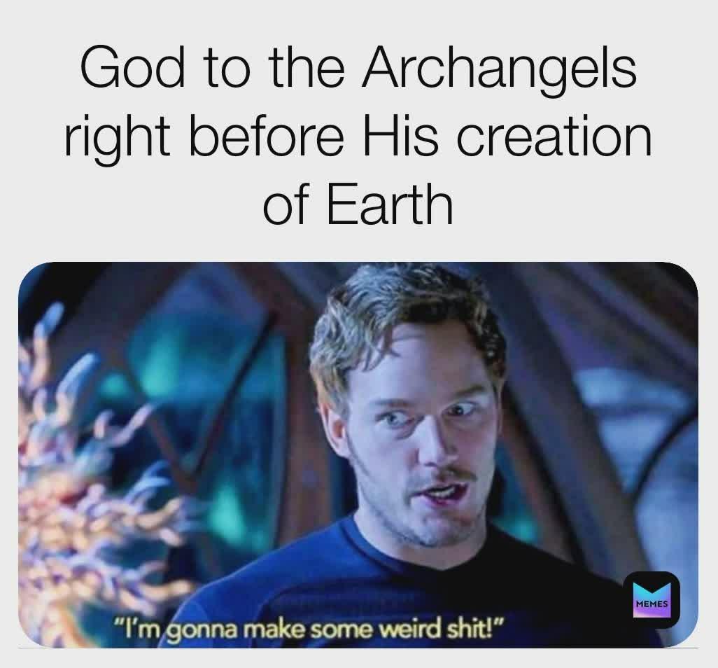 Probably, definitely happened like this - meme