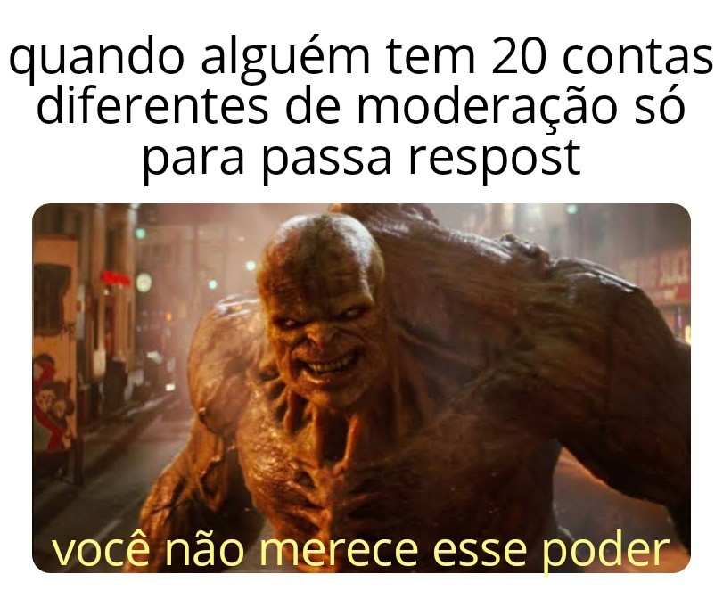 O diabo - meme