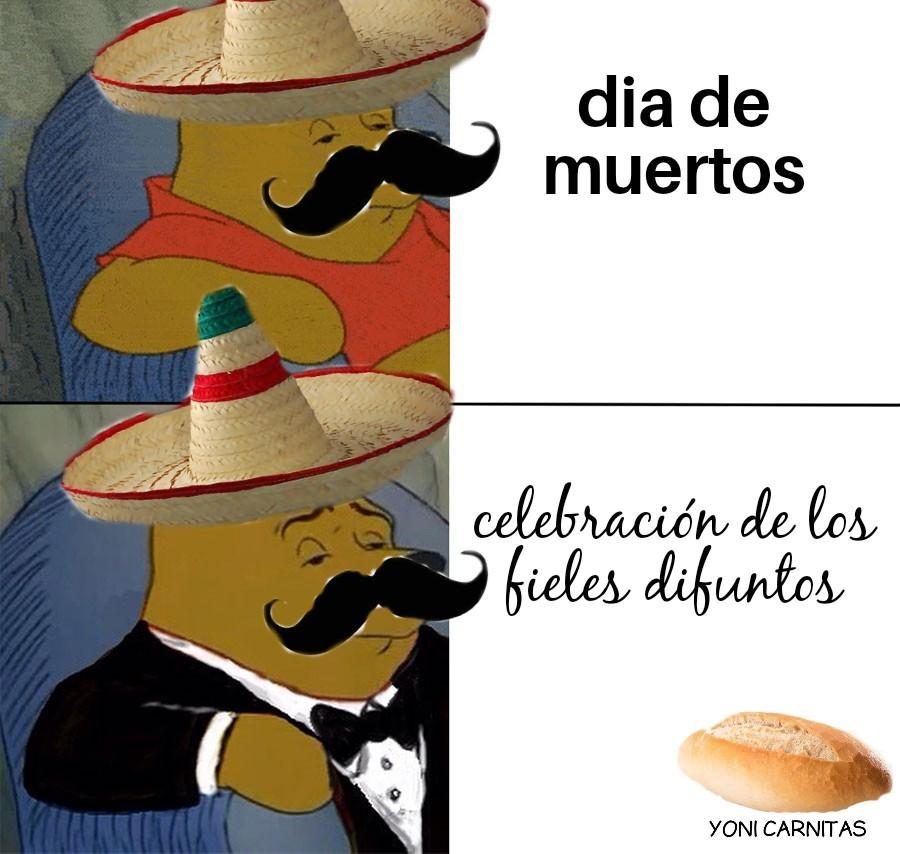 Solo mexichancos entenderán - meme